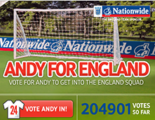 Andy for England Thumbnail